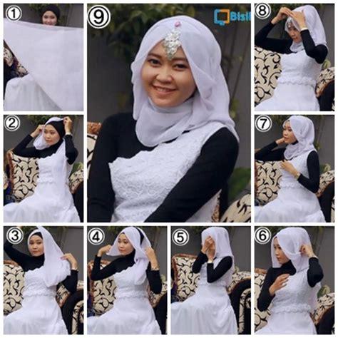 tutorial kerudung pesta tutorial kerudung hijab segi empat modern anggun untuk pesta