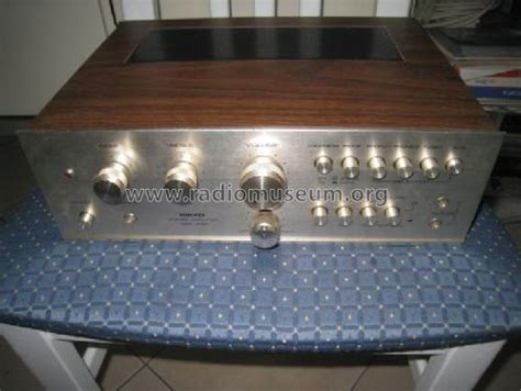 Mixer Nikko stereo pre lifier trm 230 d l mixer nikko electric