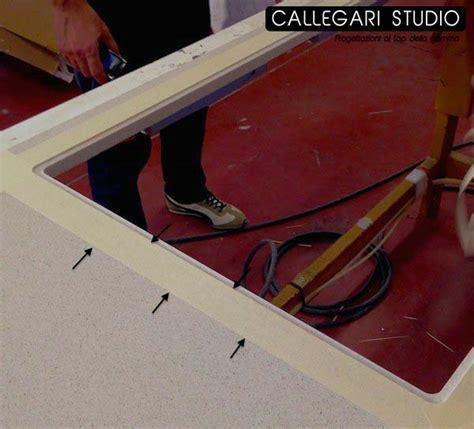 lavello filo top montaggio filotop per piani cottura e lavelli callegari