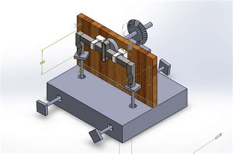 multi tool bench multi tool operating workbench solidworks 3d cad model