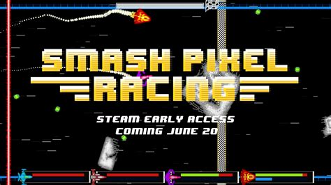 pixel race smash pixel racing releasing on steam early access june
