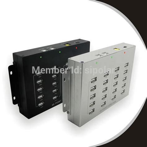 phone charging box 20 port powered usb hub internal usb 2 0 cell phone