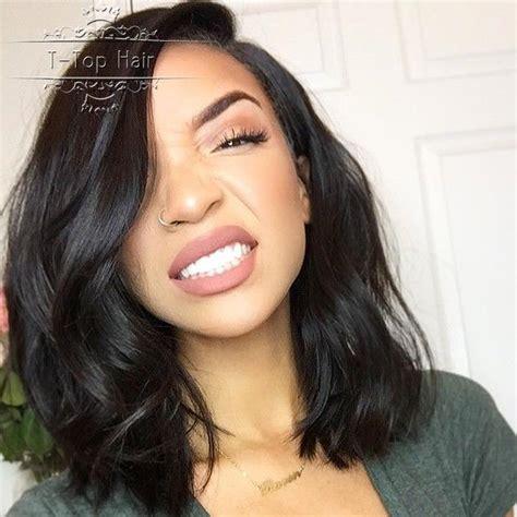 u part bob wigs for black women natural wave virgin brazilian human hair wigs bob short u
