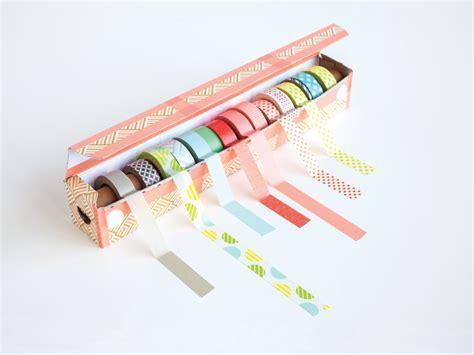 washi tape diy easy diy washi tape dispenser project from washi tape