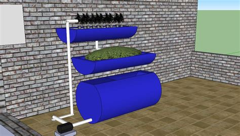 backyard aquaponics system design aquaponics designs that are currently being used to grow