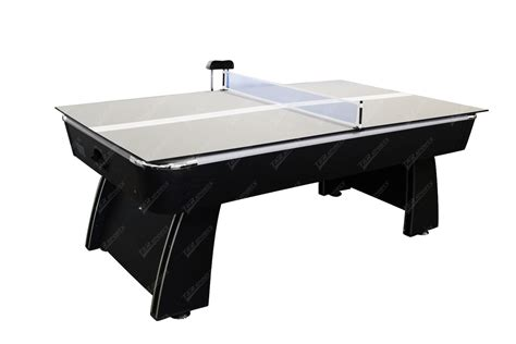 air hockey ping pong table new arrival 2017 black 7ft air hockey table free ping