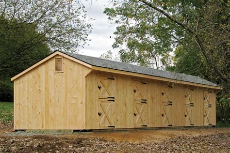 Used Shed Row Barn For Sale by Post Beam Barns Run In Shed Row Rancher With