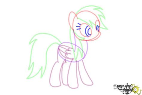 how to if my is how to draw rainbow dash from my pony friendship is magic drawingnow