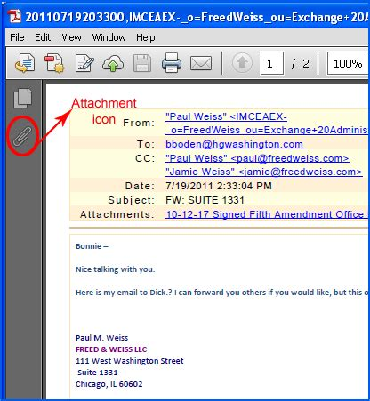 Can You Search By Email Easily View Attachment In Adobe Pdf