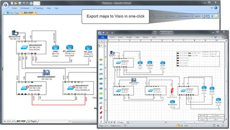 automate visio automate network mapping and troubleshooting netbrain