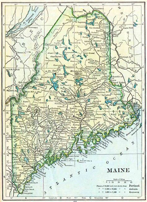 map maine 1910 maine census map access genealogy