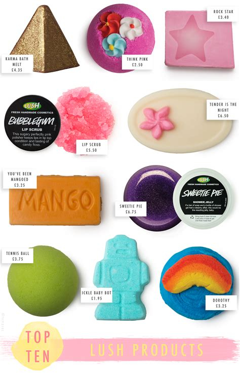10 Best And Worst Shower Products by Top 10 Lush Products Temporary Uk Fashion