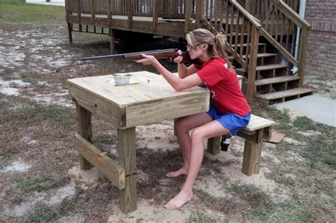 cool diy shooting bench plans adrians blogs