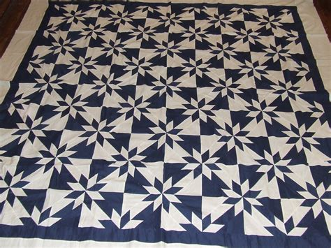 pattern for blue and white quilt blue and white hunter s star quilt top tim latimer