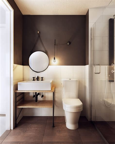 estilo bathroom a charming eclectic home inspired by nordic design