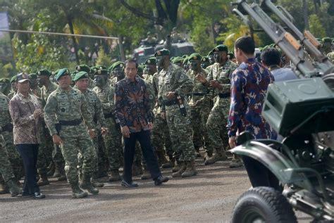 Menegakkan Kedaulatan Rakyat hari ini safari militer jokowi berlanjut ke markas kostrad portal media sumatera time