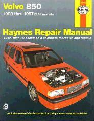1993 1997 volvo 850 haynes repair manual