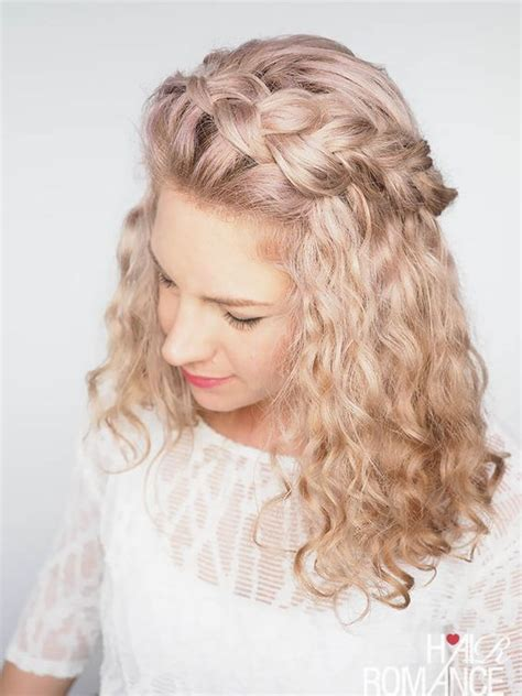 Whats Ashlees Best Look Wavy Or by The Best Braided Looks For Curly Hair Curlyhair 2017