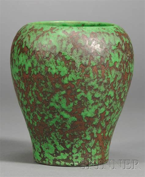 Weller Vase by Louwelsa Weller Monumental Pottery Vase Bidsquare