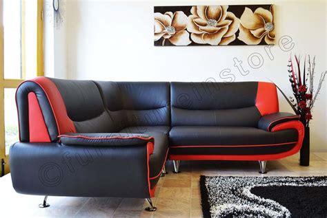black red white sofa new passero faux leather corner sofa suite black white