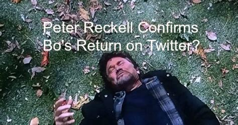 peter reckell coming back to days celeb dirty laundry 20 new articles