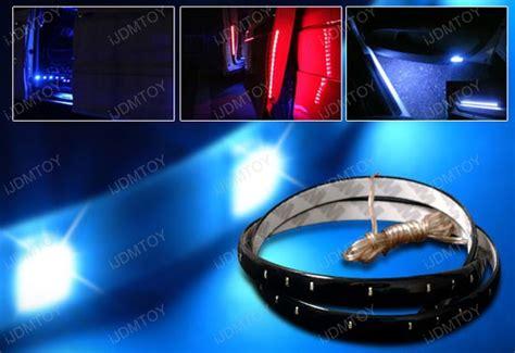Car Interior Led Light Strips Led Strips For Car Interior Lights Ijdmtoy Automotive Lighting