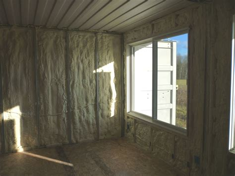 Insulate Pole Barn How To Build Tin Can Cabin