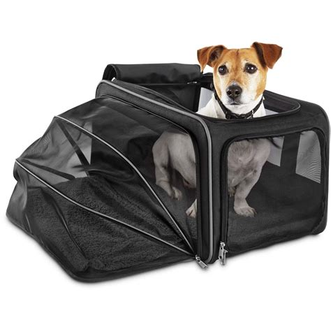 petco carriers good2go expandable pet carrier petco