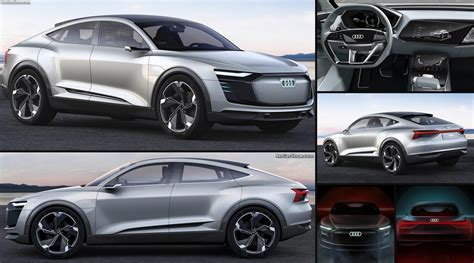 Audi Sportback E Tron by Audi E Tron Sportback Concept 2017 Pictures