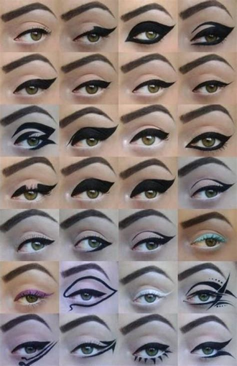 what color eyeliner for green makeup for green basic and colors