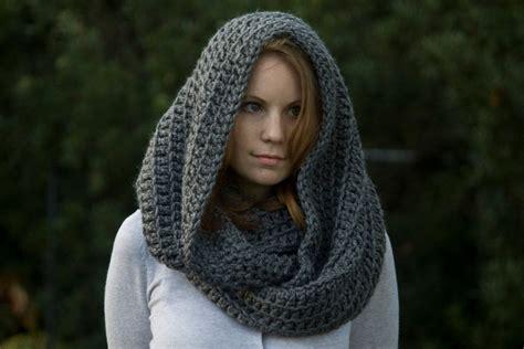 free pattern hooded scarf crochet pattern oversized hooded infinity scarf cowl
