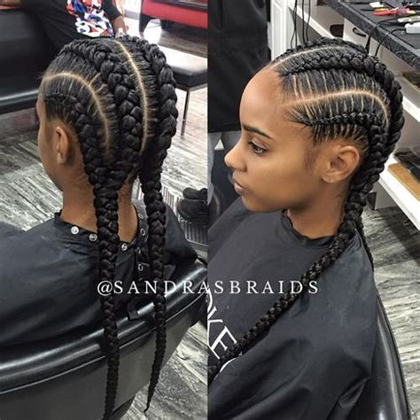alternating fat and skinny cornrow hairstyles best 20 african american braids ideas on pinterest