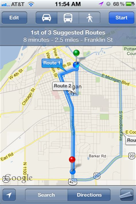 how to find locations and get directions using siri imore