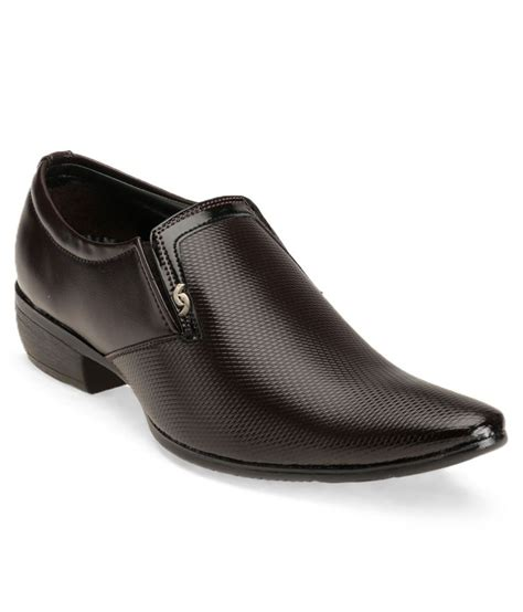 richy trendy brown formal shoes price in india buy