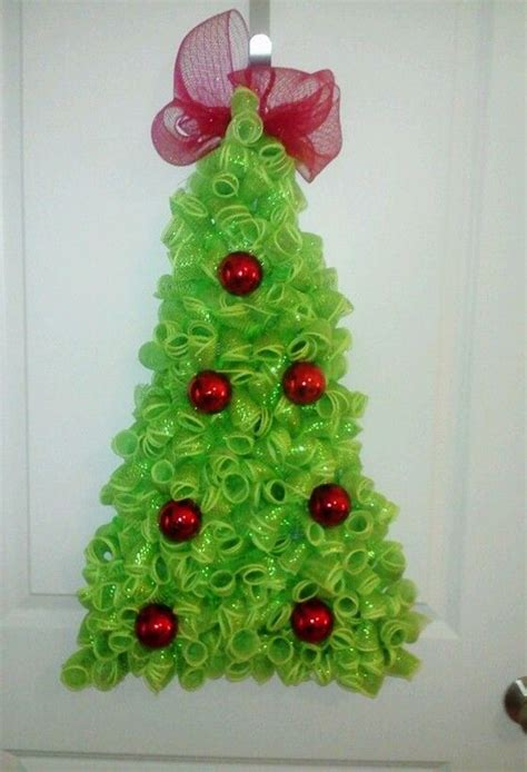2014 deco mesh christmas tree so much fun to make