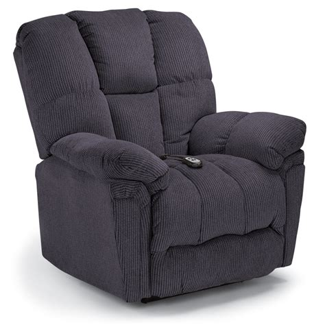 best home furnishings lucas power rocker recliner slate