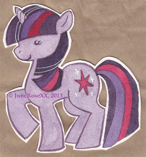 My Pony Gelpen mlp fim twilight sparkle lil pony 5 by junerosexx on