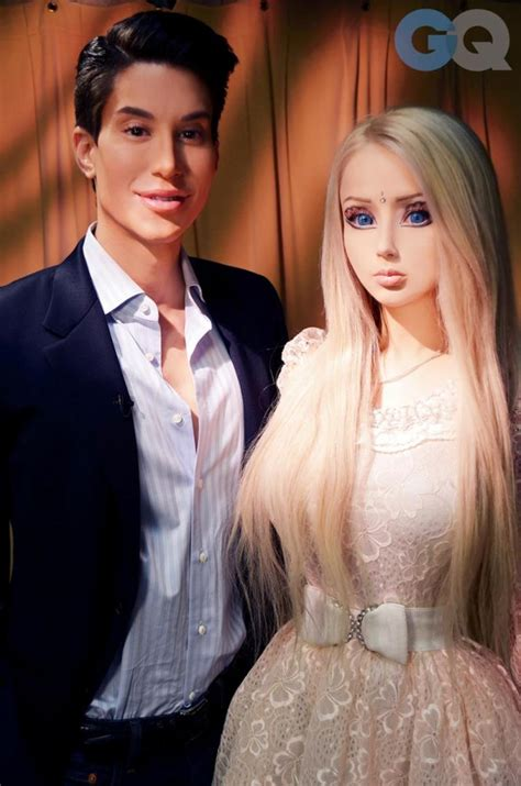 human barbie doll family human barbie race mixing prompts plastic surgery rise