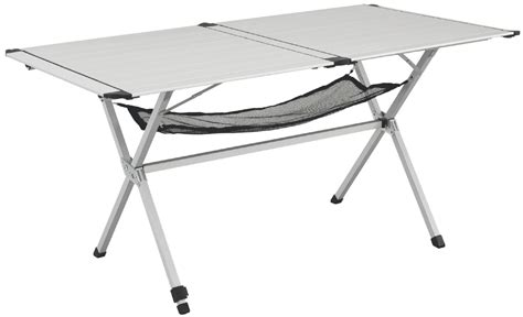 temporary dining table outwell stettler folding portable cing dining table