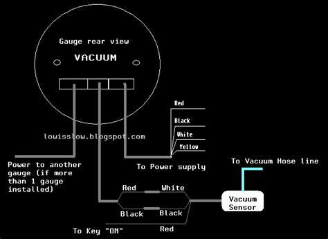 defi meter wiring diagram with machine diy install defi bf part 3 vacuum