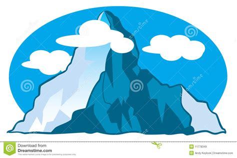 clipart montagna illustration de dessin anim 233 de montagne illustration de