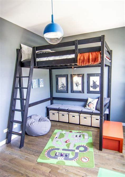 Bunk Beds For Small Rooms 30 Cool Loft Beds For Small Rooms