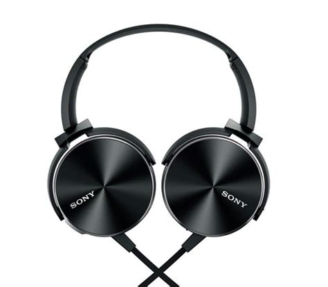 Heahphpne Sony Bass Mdr 450 sony mdr xb 450 black headphone check review