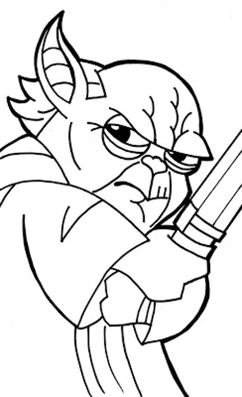 Yoda Drawing Outline by Kevin S How To Draw Master Yoda