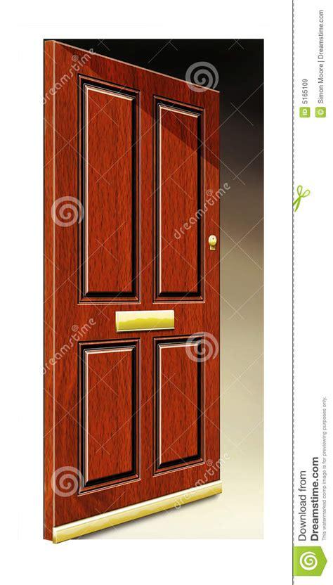 open door illustration stock illustration image of knock 5165109