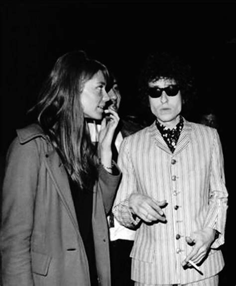 francoise hardy rolling stones fran 231 oise hardy and bob dylan at the olympia music hall in