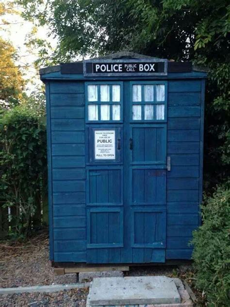Tardis Garden Shed by 44 Best Images About Tardis Sheds On Gardens