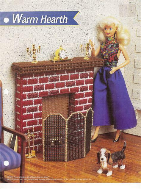 fashion dollhouse in plastic canvas warm hearth annies attic fashion doll plastic canvas club