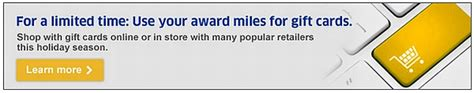 United Gift Cards For Miles - using united miles for gift cards other merchandise loyaltylobby