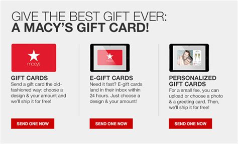 Best Gift Cards To Give For Birthdays - gift cards e gift cards gift certificates macy s